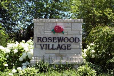 Rosewood Village, Ann Arbor Entrance