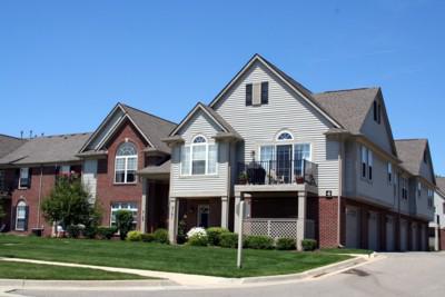 Rosewood Village, Ann Arbor End Unit View