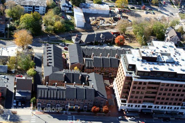 Ashley Mews Condos, Downtown Ann Arbor Aerial