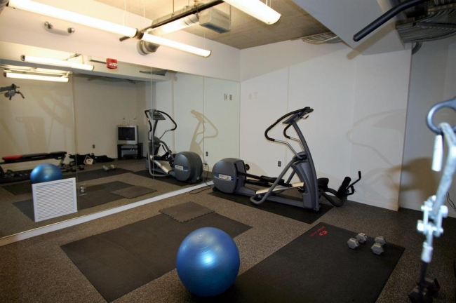 Loft 322 Workout Room