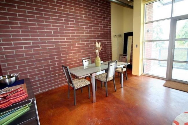 Loft 322 Condos Dining Space