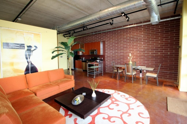 Loft 322 Condos Living & Dining