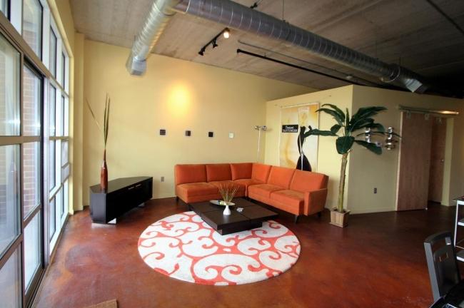 Loft 322 Condos Living Room