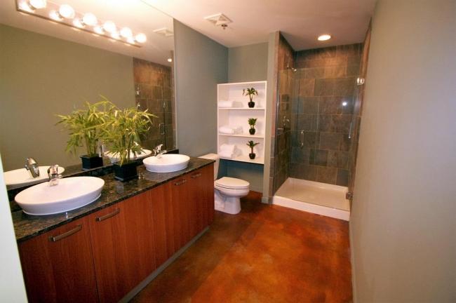 Loft 322 Condos Master Bath