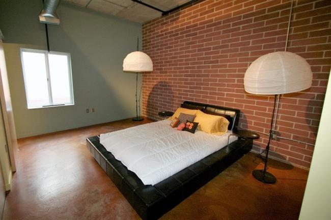 Loft 322 Condos Master Bedroom