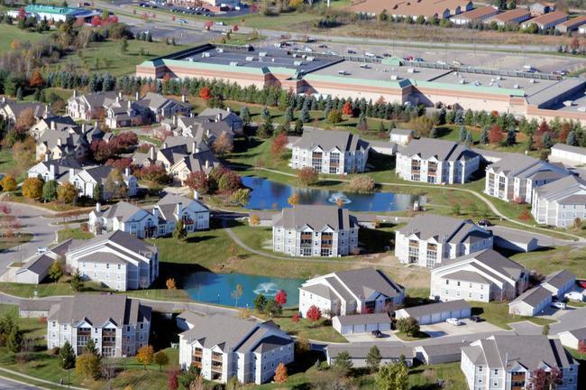 Weatherstone Ann Arbor Aerial View