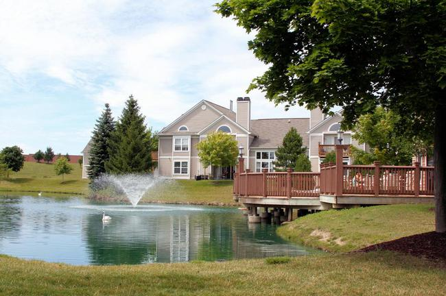 Pond & Clubhouse Deck