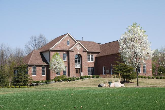 Walnut Ridge Subdivision, Ann Arbor Home in Spring