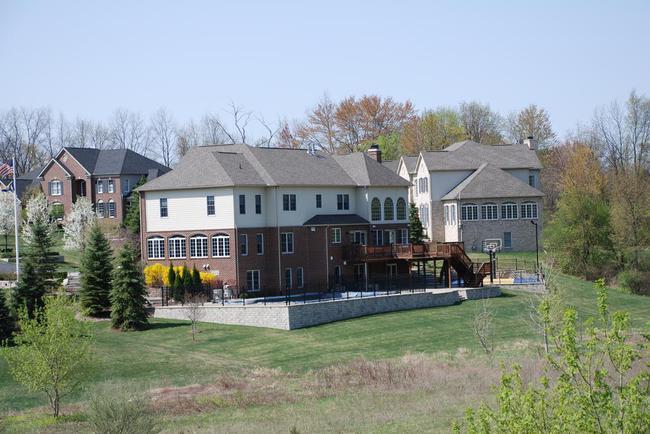 Walnut Ridge Subdivision, Ann Arbor Back View Far