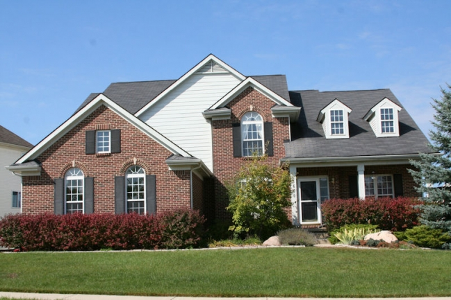 Woodcreek Subdivision, Ann Arbor Front View