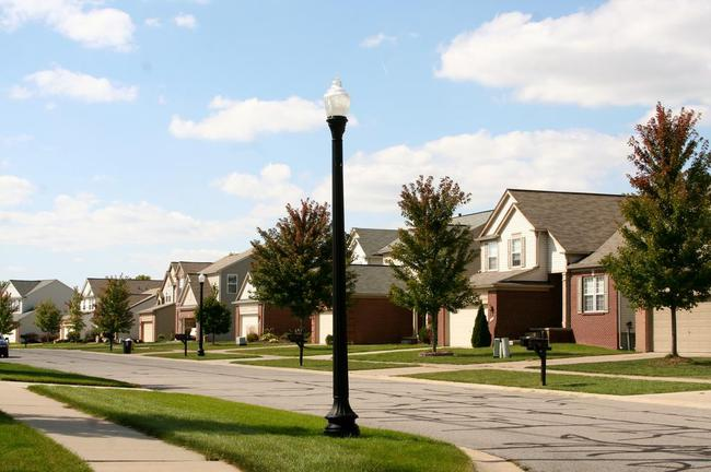 Greene Farms Subdivision, Ypsilanti MI Street View