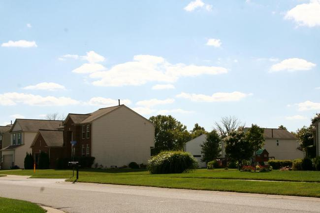Greene Farms Subdivision, Ypsilanti MI Street