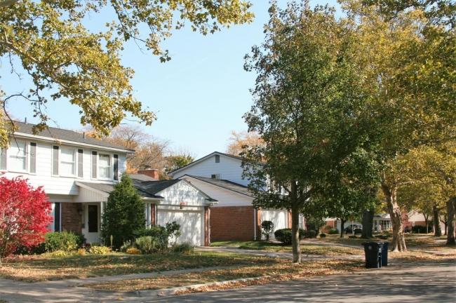 Georgetown Subdivision, Ann Arbor Fall View