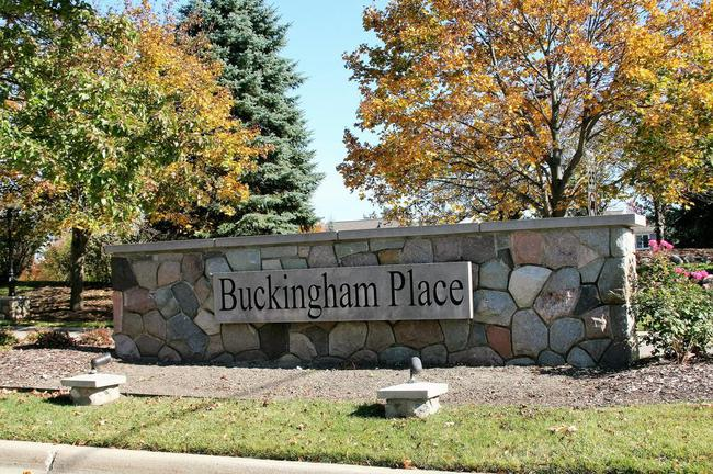Buckingham Place, Canton Subdivision Entrance